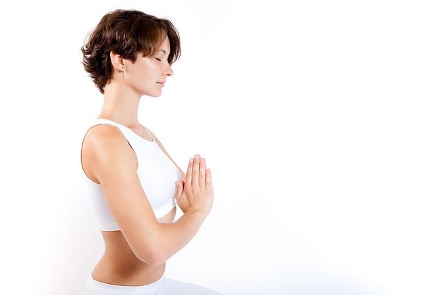 Йога помогает снять стресс