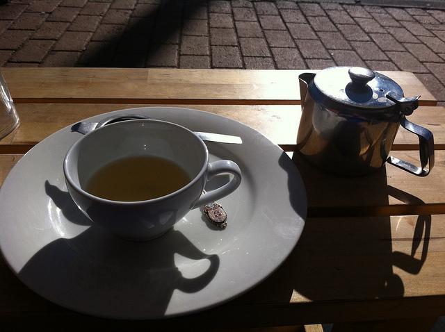 Чай помогает снять стресс