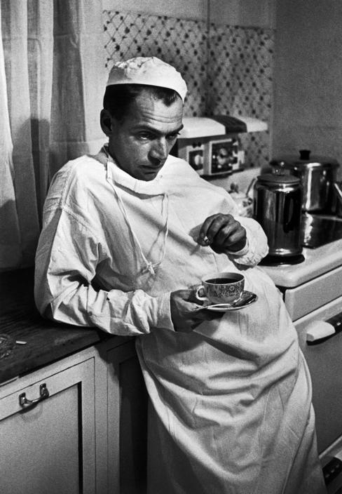 Доктор Цериани после смерти пациента