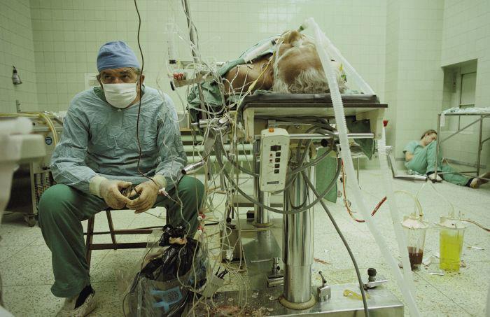 Кардиохирург после операции (сильные фото врачей)