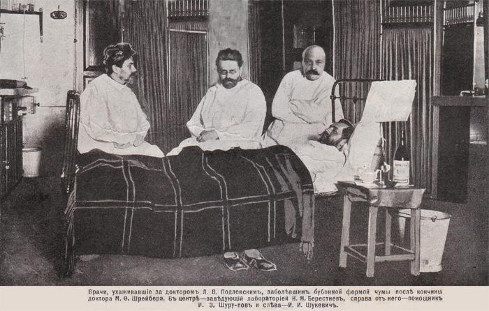 Врач умер от чумы (сильные фото врачей)