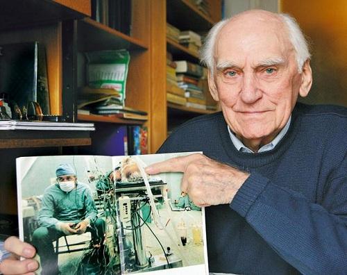 Выживший после операции старик (сильные фото врачей)