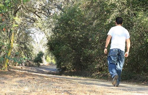 Ходьба помогает здоровью