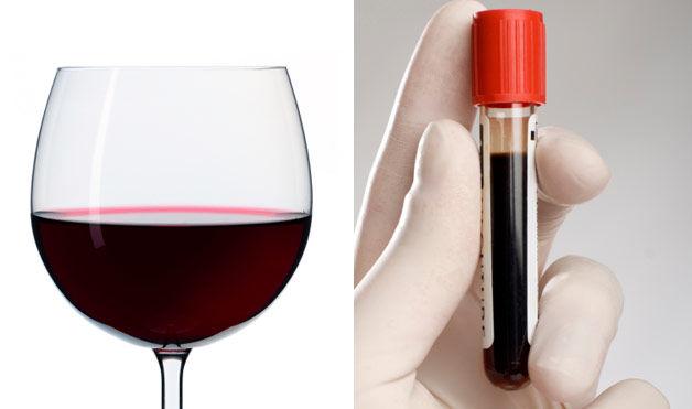 вино - кровь
