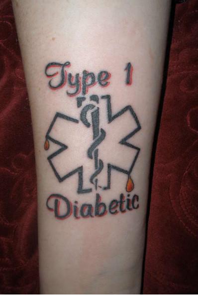 Татуировка диабет