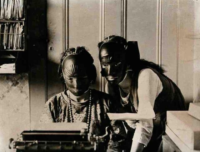 Резиновые маски красоты