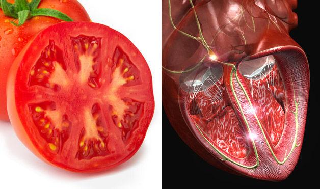 томат - сердце