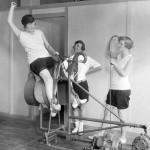 21. В 1928-м году знаменитый американский аттракцион «брыкающийся бык» использовался в качестве тренажера в одном из залов Калифорнии.