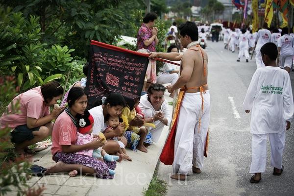 фестиваль вегетарианства в Таиланде