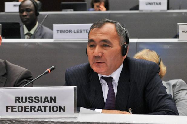 Представитель из России на конференции