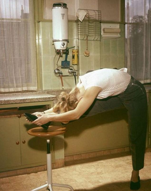Гимнастика для домохозяек
