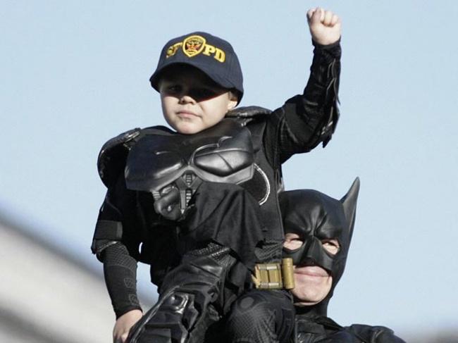 Стать Бэтменом на один день