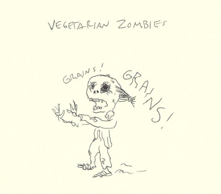 Зомби-вегетарианец