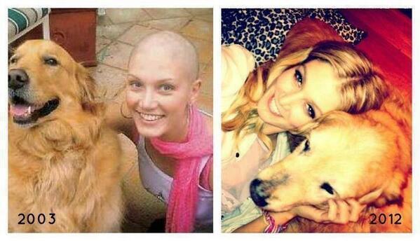 Дельта Гудрем 9 лет после победы над раком