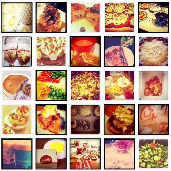 Инстаграм с едой