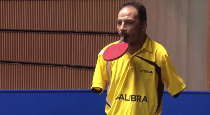 Ибрагим Хамато безрукий теннисист