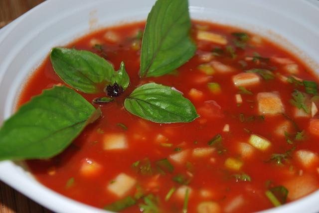 Низкокалорийные холодные супы