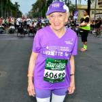 Харриетта Томпсон, 91-летняя рекордсменка марафона