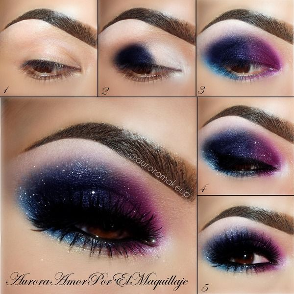 Galaxy-Stars-Eye-Makeup-Tutorial