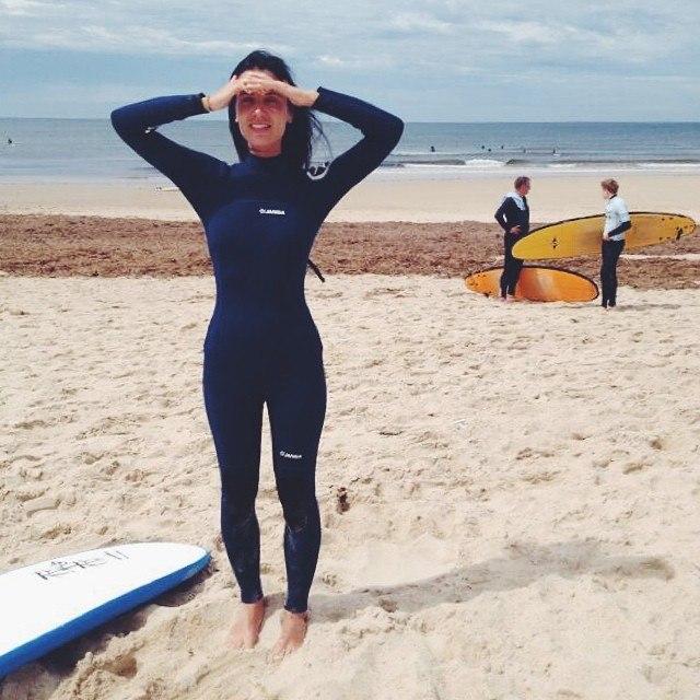 Лида Стриж серфинг