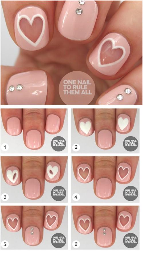 4-heart-shaped-nail-art