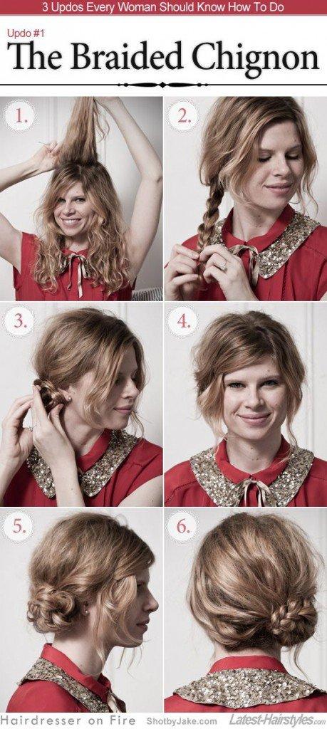 Прически для кудрявых волос